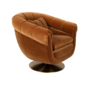 MEMBER LOUNGE CHAIR - Whiskey
