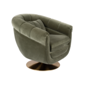 MEMBER LOUNGE CHAIR - Olive