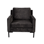 HOUDA FAUTEUIL - Anthracite