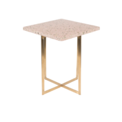 LUIGI SIDE TABLE - Square pink