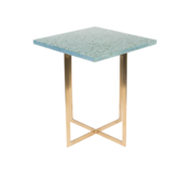 LUIGI SIDE TABLE - Square green