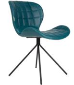 Zuiver - stoel OMG LL -  Blauw