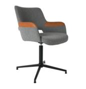 Zuiver - stoel SYL - bruin