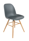 Zuiver - Albert Kuip stoel - Donker Grijs