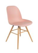 Zuiver - Albert Kuip stoel - Oud Roze