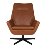 Dutch Bone - Don Lounge Chair - Cognac