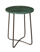 Dutch Bone - Emerald Side Table