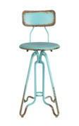 Dutch Bone - Ovid Counter Stool - Ocean Blue