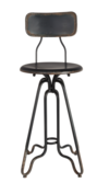 Dutch Bone - Ovid Counter Stool - Black