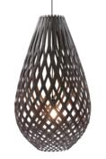 Lamp Koura 50 cm Zwart