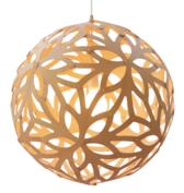 Lamp FLORAL 60cm naturel