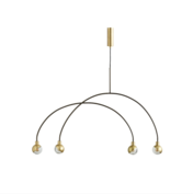 101 CPH - ARC pendant lamp Brass