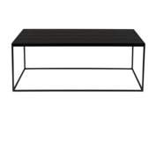 ZUIVER - Glazed Coffee Table Black