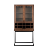 ZUIVER - Travis Cabinet Walnoot