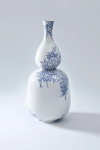 Royal Delft Double Gourd