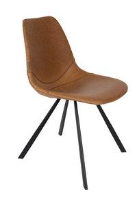 Dutch Bone - stoel Franky - Cognac