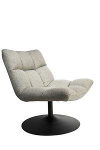 Dutch Bone - Bar Lounge Chair - Lichtgrijs