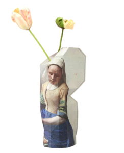Paper Vase Cover Milkmaid
