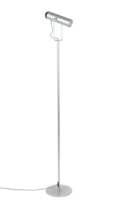 MARLON FLOOR LAMP - Silver