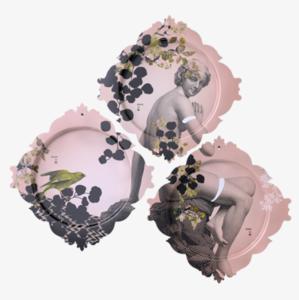 Ibride - Dienbladen set van 3 - LE TRIPTYQUE DU PARC