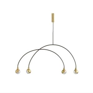 101 CPH - ARC pendant lamp Brass
