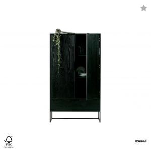 WOOOD - Silas Cabinet Zwart