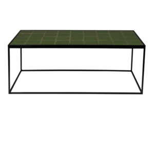 ZUIVER - Glazed Coffee Table Green