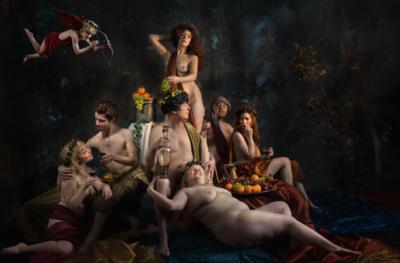 KAKY ART - Pan, Bacchus and Ceres