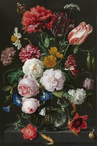 KAKY ART - Stilleven met bloemen