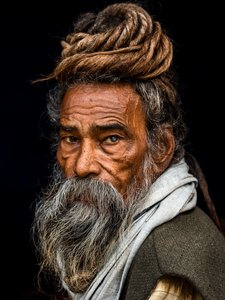 KAKY ART - Portrait of a Sadhu