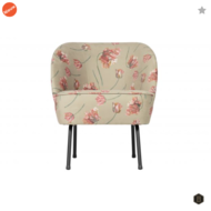 BEPUREHOME - VOGUE fauteuil fluweel - Rococo agave