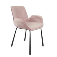 BRITT ARMCHAIR - Velvet pink