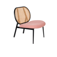 SPIKE FAUTEUIL - Naturel / pink