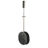 101 CPH - CLAM OXIDIZED pendant lamp