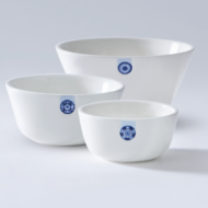 ROYAL DELFT - Touch of Blue Bowls (set of 3)