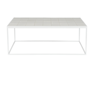 ZUIVER - Glazed Coffee Table White