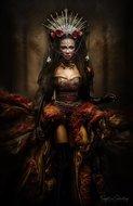 KAKY ART - Lady of the Night