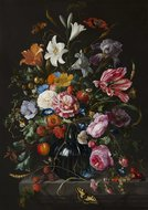 KAKY ART - Vaas met bloemen