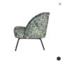 BEPUREHOME - VOGUE fauteuil fluweel - Poppy grijs