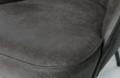 BEPUREHOME - VOGUE fauteuil leer - Zwart