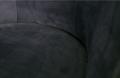 BEPUREHOME - VOGUE fauteuil fluweel - Inkt