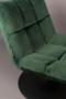 BAR LOUNGE CHAIR  - Fluweel Green