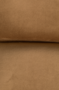 BAR LOUNGE HOCKER  - Fluweel Golden Brown