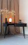 BARBIER CONSOLE TABLE - Black
