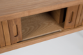 BARBIER CONSOLE TABLE - Oak