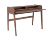 BARBIER DESK TABLE - Walnut