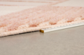 BLISS CARPET ROUND 240' - Naturel / pink