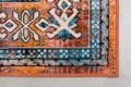CARPET MAHAL - Blue/brick