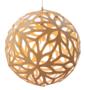 Lamp Floral 40 cm naturel