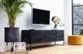 WOOOD - SILAS Tv meubel Zwart
